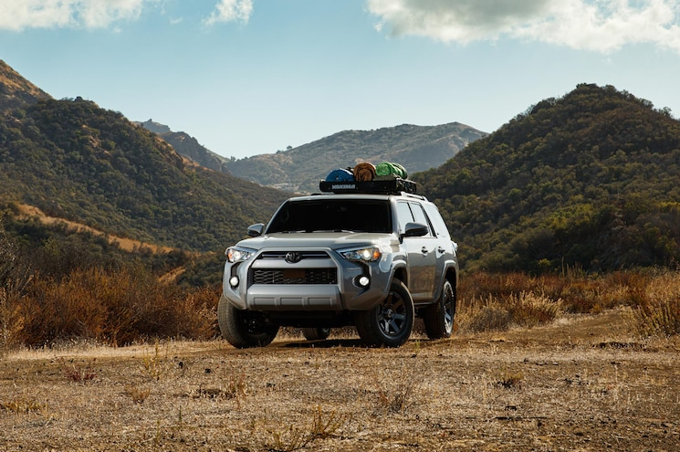 2020 Toyota 4runner Trail Special Edition Exterior Front Quarter