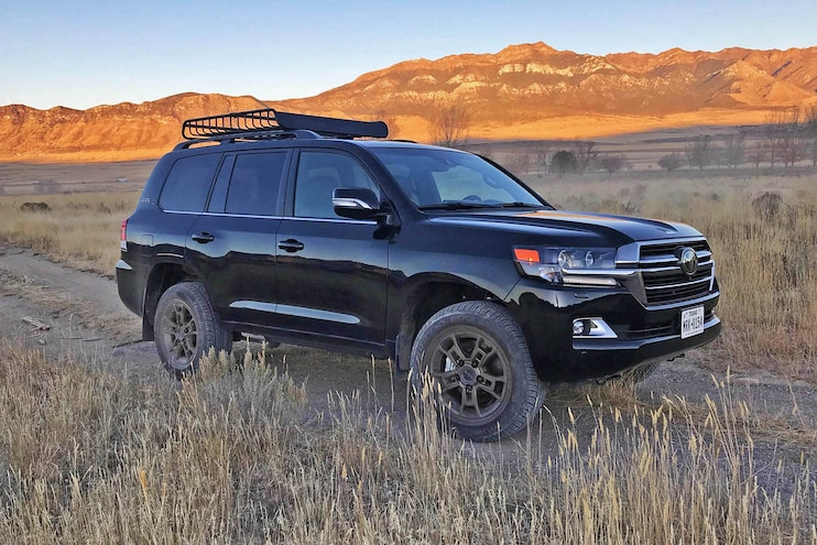 Off-Road with the 2020 Toyota Land Cruiser Heritage Edition