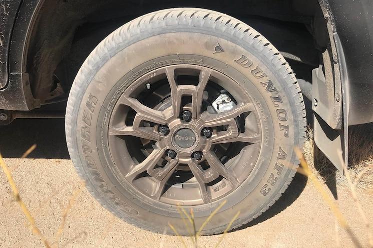 2020 Toyota Land Cruiser Heritage Edition Exterior Tires