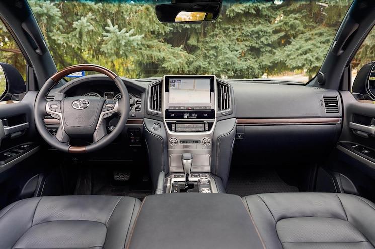 2020 Toyota Land Cruiser Heritage Edition Interior Dashboard