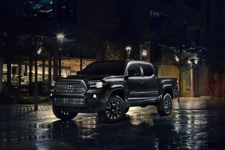 2020 Toyota Tacoma Nightshade Edition Exterior Front Quarter 02