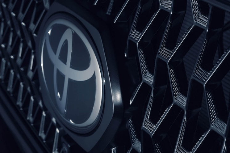 2020 Toyota Tacoma Nightshade Edition Exterior Grille Texture
