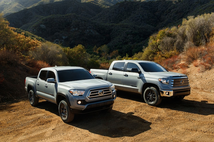 2020 Toyota Tundra And Tacoma Trail Special Edition