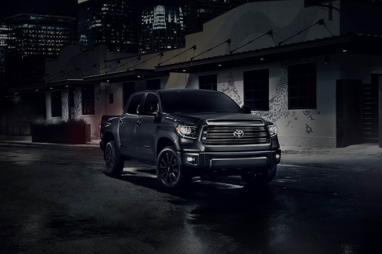 2020 Toyota Tundra Nightshade Edition Exterior Front Quarter