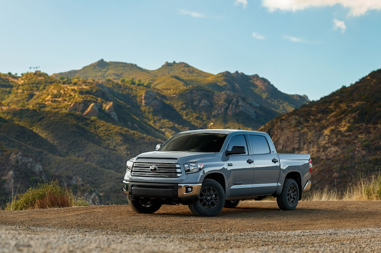2020 Toyota Tundra Trail Special Edition Exterior Front Quarter