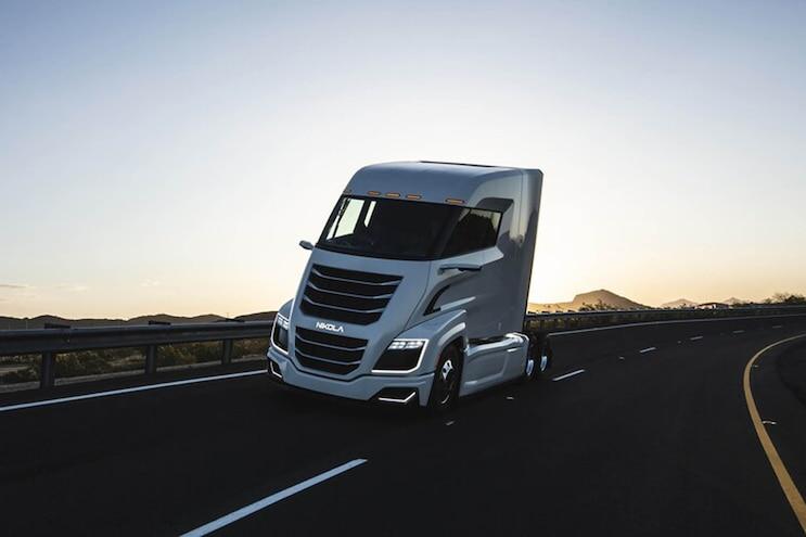2021 Nikola Badger Nikola Semi Truck 14