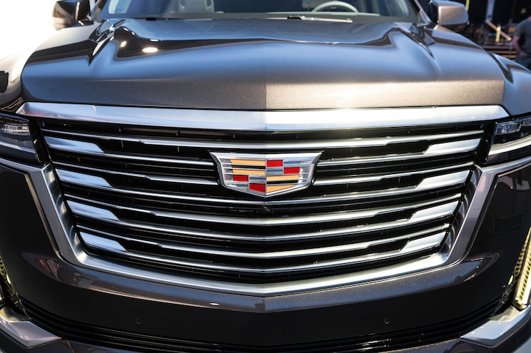 2021 Cadillac Escalade First Look Front Grille
