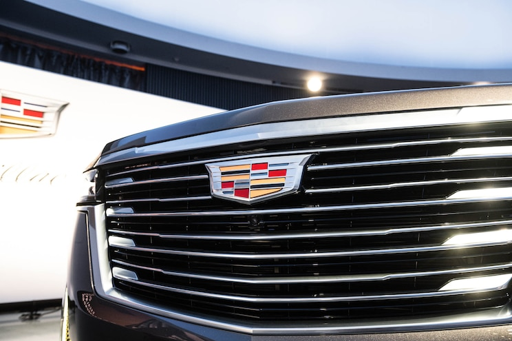 2021 Cadillac Escalade First Look Grille