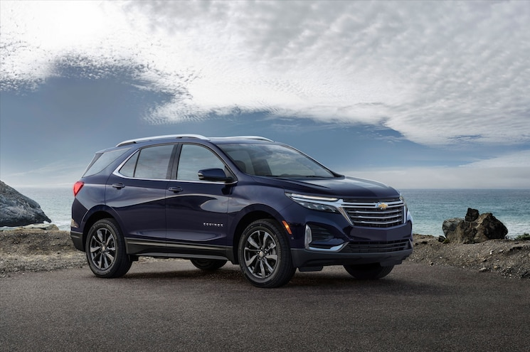 First Look – Facelifted 2021 Chevrolet Equinox