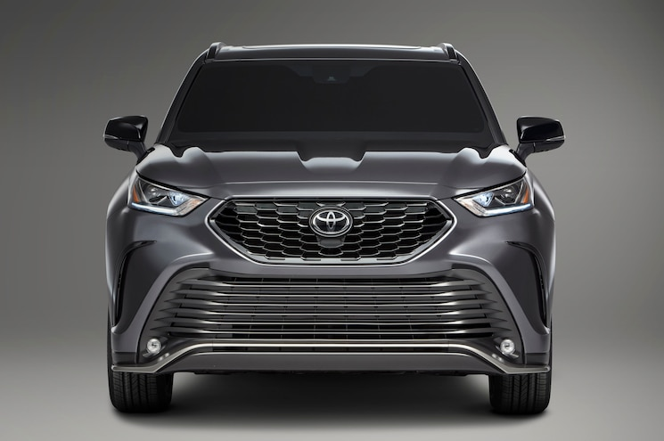 2021 Toyota Highlander Xse Exterior Front View
