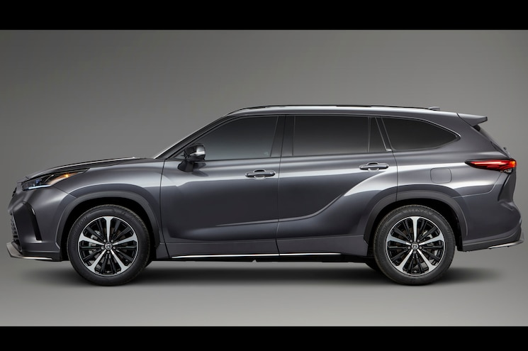 2021 Toyota Highlander Xse Exterior Side Profile