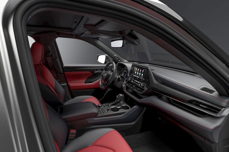 2021 Toyota Highlander Xse Interior Front Cabin