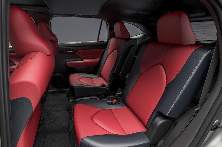 2021 Toyota Highlander Xse Interior Rear Seats