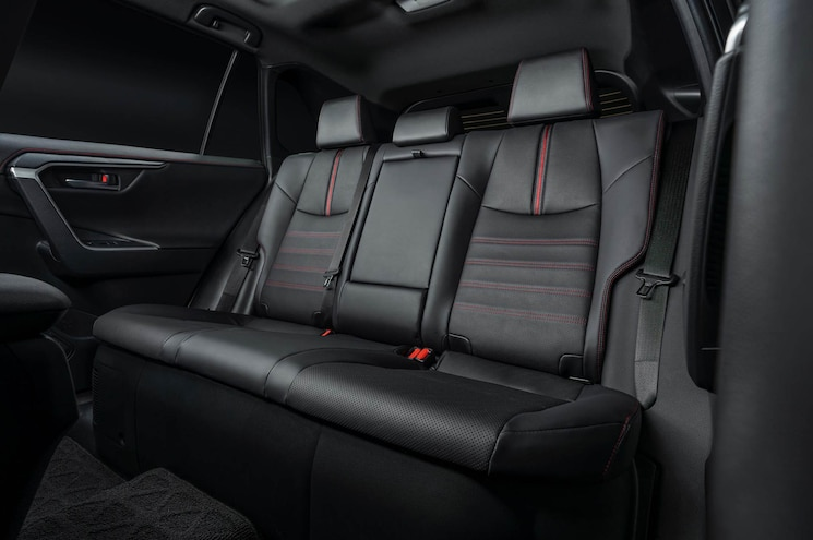 2021 Toyota Rav4 Prime Interior Rear Seats