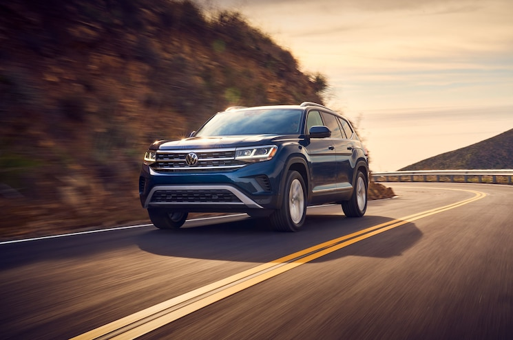 2021 Volkswagen Atlas Facelift Revealed - Chicago Auto Show