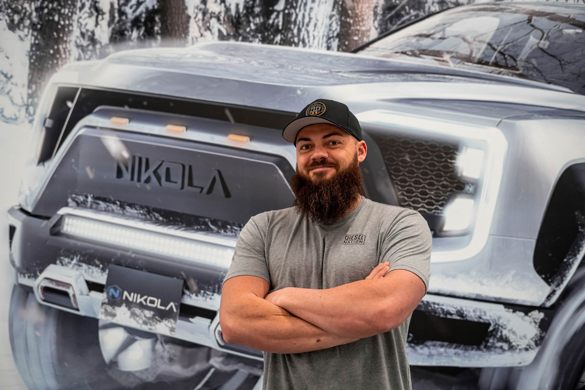 heavy d dave sparks dishes on the 2022 nikola badger truck trend