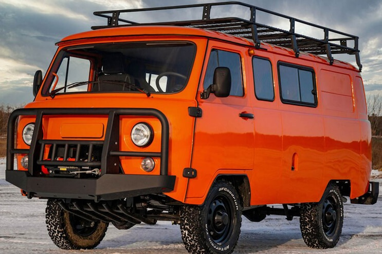We'd Kill to Overland in This Russian Van, Even if It Kills Us First