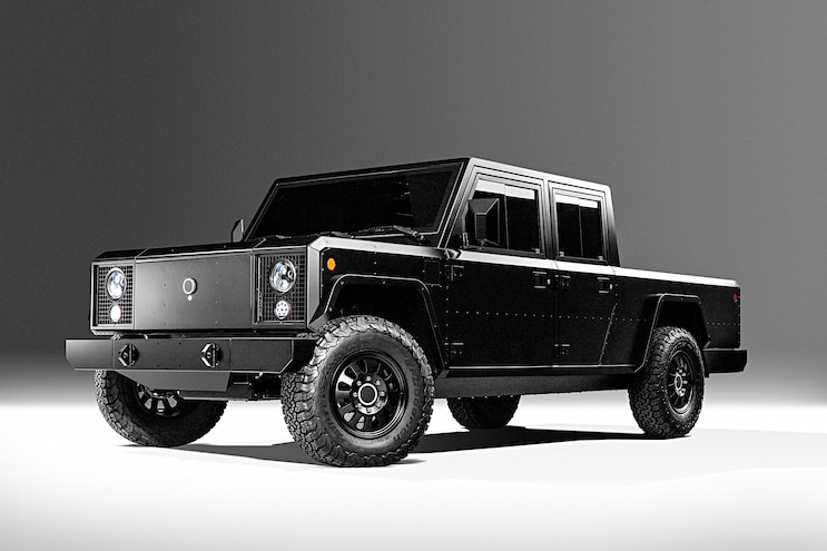Bollinger B1 And B2 Electric Truck Front 3q