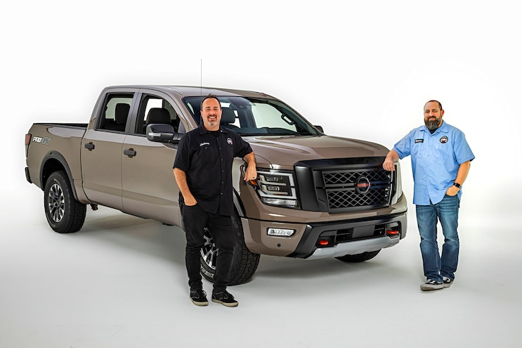 The Truck Show Podcast Goes Inside Nissan Trucks (Literally)