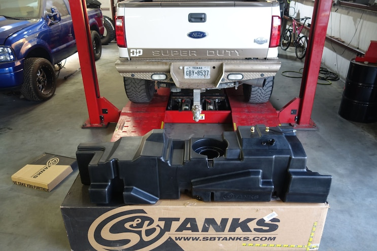 How To: Installing S&B Tanks' 60-Gallon Fuel Tank for Ford's 2011-2016 Super Duty