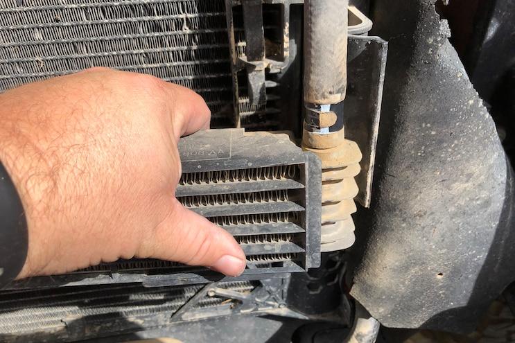 005 Mishimoto Ford F150 Raptor Transmission Cooler Install