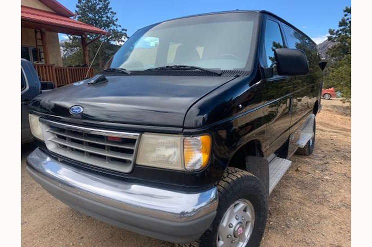 Buy It Now! 1994 Ford E-350 From a Past President's Motorcade Is For Sale
