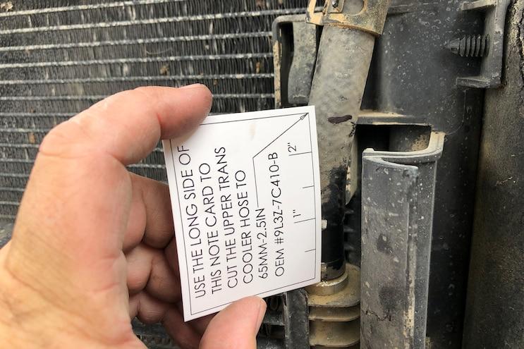 006 Mishimoto Ford F150 Raptor Transmission Cooler Install
