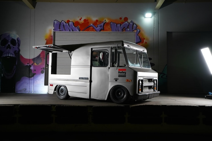 Van-oonigan! Hoonigan's LS-Powered 1969 Chevy P10 Step Van Is Awesome