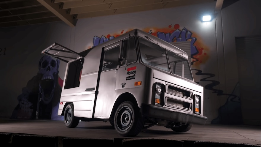 1969 Chevy P10 Step Van Hoonigan Merch Van 4 1
