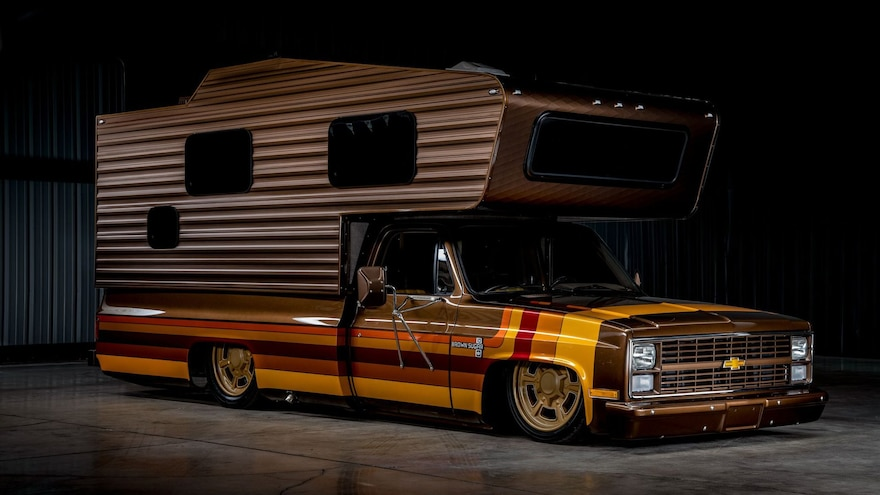 River City Rods' Custom '83 Chevy Camper May Be the Coolest RV Ever (and It's For Sale)