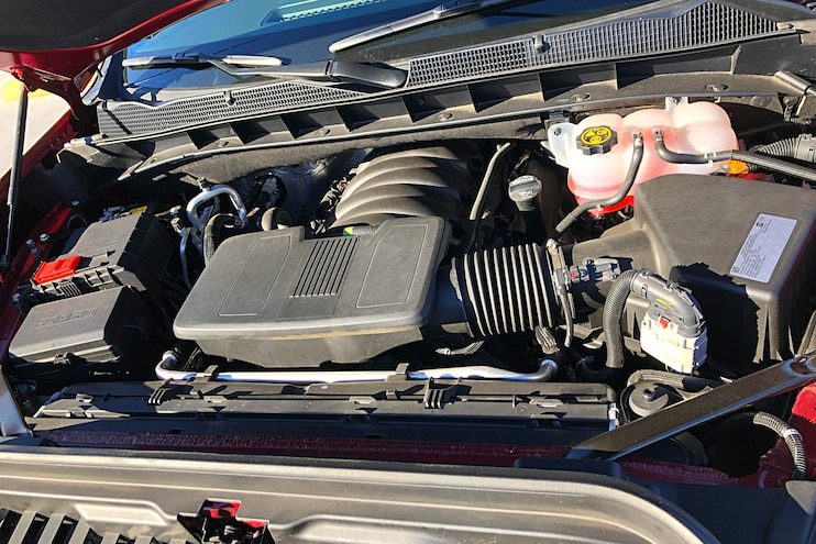 2019 GMC Sierra 1500 SLT Engine