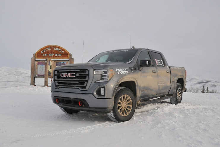 Driving the 2020 Alcan 5000 Rally in a 2020 GMC Sierra AT4