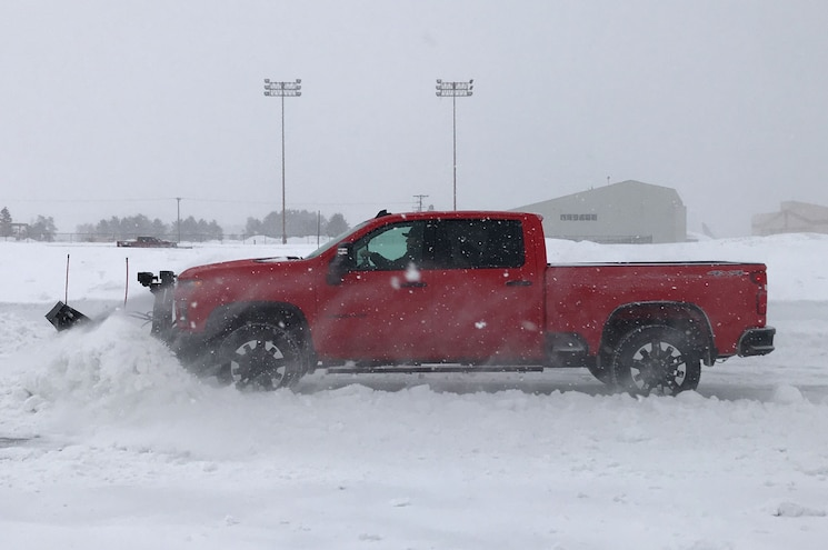 Behind the Wheel of a 2020 Chevrolet Silverado HD Snowplow