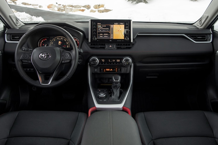 2020 Toyota Rav4 Trd Off Road Interior Dashboard