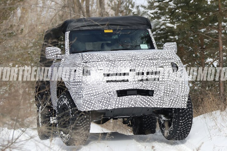 2021 Ford Bronco Two Door Off Road Snow