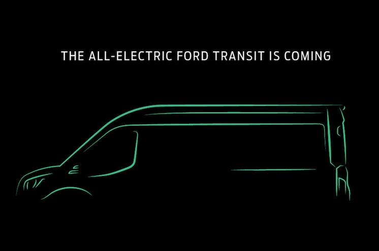 Ford to Offer All-Electric Transit Van for 2022