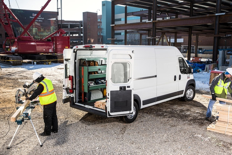 2021 Ram ProMaster Van First FCA Product With New Digital Rearview Mirror