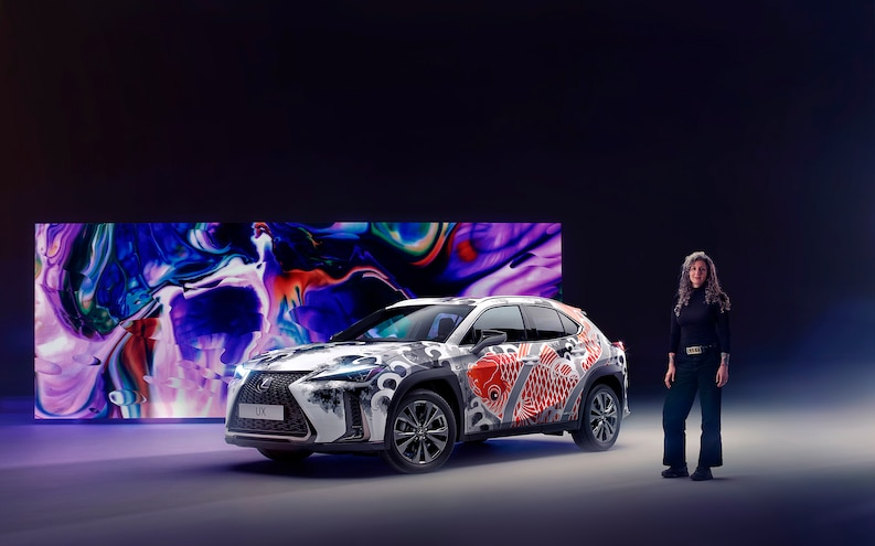 Tattooed Lexus UX: The Artwork Alone Is Worth $140K!