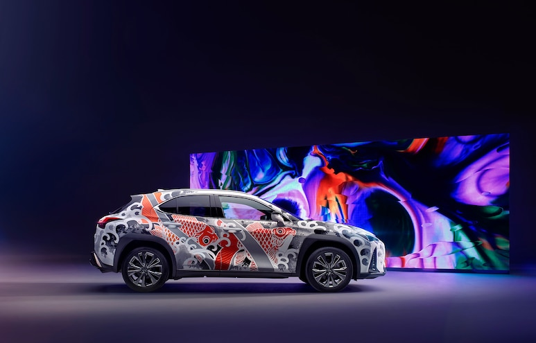 Lexus UX Tattoo Suv Carp Engraved De Sabe 4