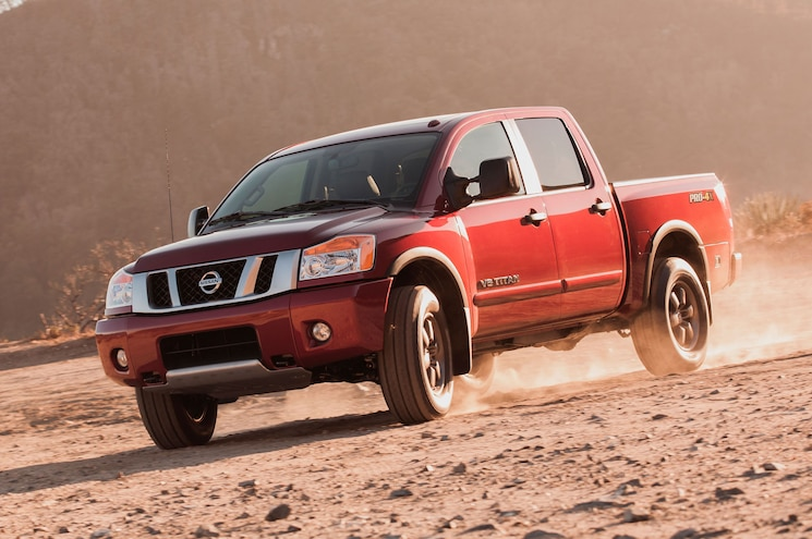 Best Trucks For Budget Buyer 2014 Nissan Titan Pro 4x Crew Cab
