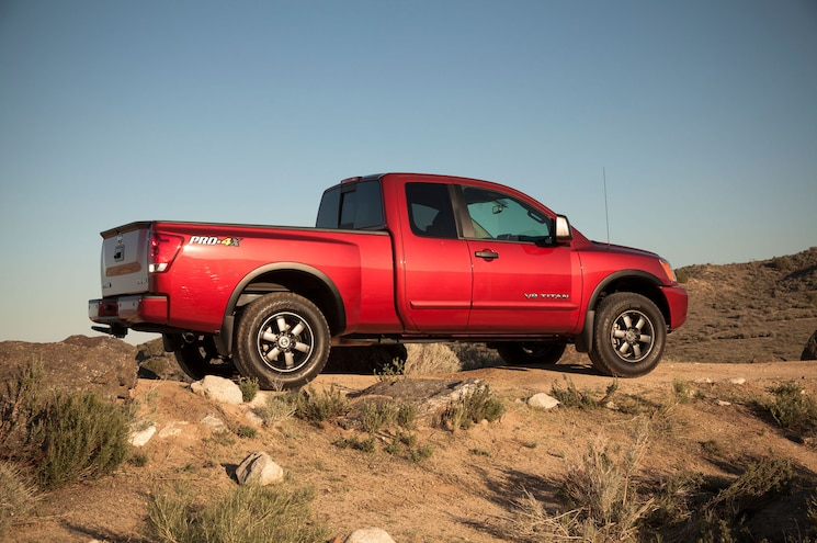 Best Trucks For Budget Buyer 2014 Nissan Titan Pro 4x