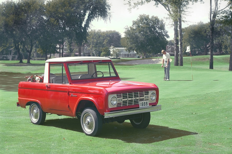 Convertible Pickups 1966 Ford Bronco Utility Sports