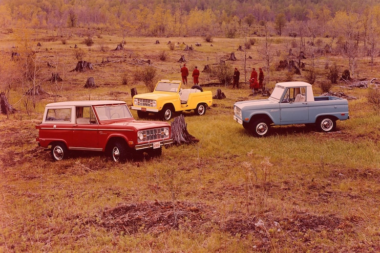 Convertible Pickups 1969 Ford Bronco Lineup
