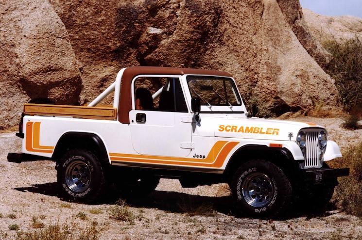 Convertible Pickups Jeep Cj 8 Scrambler