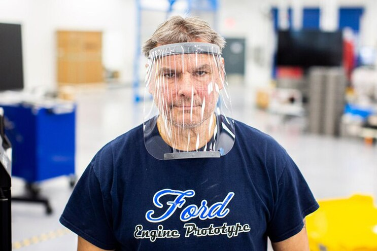 Ford's Prototype Medical Respirator Uses F-150 Cooled-Seat Fan