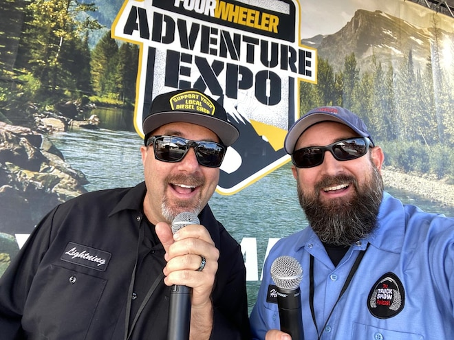 Four Wheeler Adventure Expoisode: Episode 113 of The Truck Show Podcast
