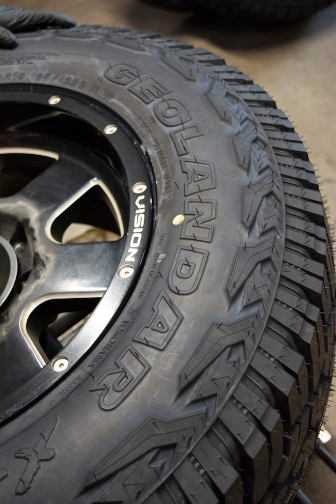Yokohama Geolander Xat Tire Test 5
