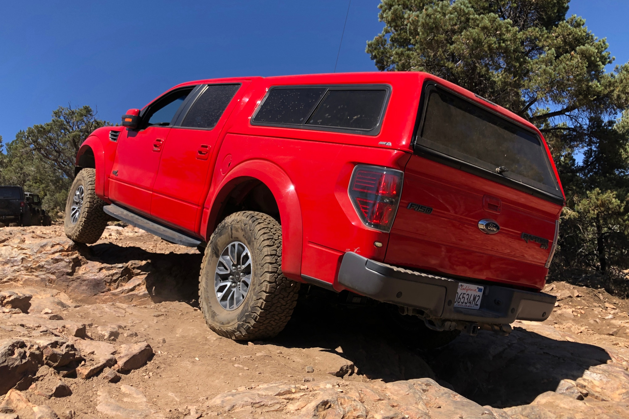 Builtright Industries Overland Truck Storage