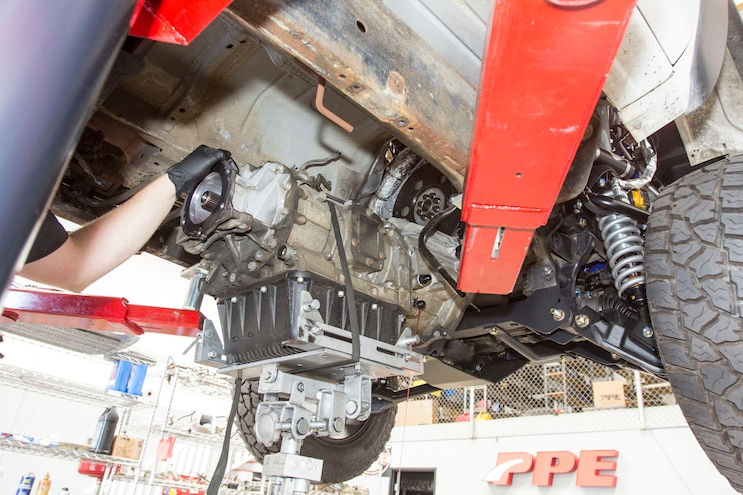 Chevy 2500HD Allison Transmission Teardown