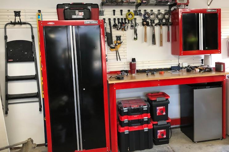 Craftsman VersaTrack Garage Upgrades